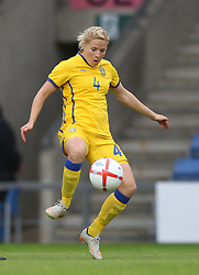 17.05.2011, Kassam Stadium, Oxford, ENG, FIFA WOMENS WORLDCUP 2011, FSP, England vs Sweden im Bild Annica Svensson of Sweden Women // during the International Friendly Match, England vs Sweden, for FIFA Women´s World Championship 2011 in Germany, Kassam Stadium, Oxford, 2011/05/17, EXPA Pictures © 2011, PhotoCredit: EXPA/ M. Atkins *** OUT OF UK! ***