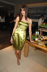 LISA B at a party to celebrate the publication of her book 'Lifestyle Essentials' held at the Cook Book Cafe, Intercontinental Hotel, Park Lane London on 10th April 2008.<br />