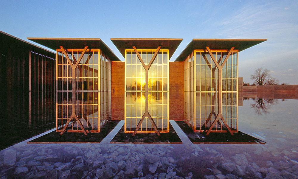 Museum of Modern Art Fort Worth Architect Tadao Ando 2002
