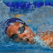 Joanne Jackson, Great Britain, in action during the Women's 800m final at the World Swimming Championships in Rome on Saturday, August 01, 2009. Photo Tim Clayton.
