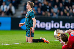 15-05-2019 NED: De Graafschap - Ajax, Doetinchem<br /> Round 34 / It wasn't really exciting anymore, but after the match against De Graafschap (1-4) it is official: Ajax is champion of the Netherlands / penalty for Ajax, Frenkie de Jong #21 of Ajax