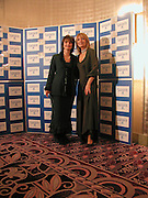 Gabby Roslin and Cherie Booth (Blair), at the Sargent Cancer Care for children annual charity gala, Park Lane hotel, © Copyright Photograph by Dafydd Jones 66 Stockwell Park Rd. London SW9 0DA Tel 020 7733 0108 www.dafjones.com
