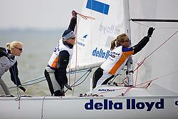 08_001983 © Sander van der Borch. Medemblik - The Netherlands,  May 23th 2008 . Third day of the Delta Lloyd Regatta 2008.