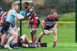 Blake Boyland of Bristol Academy U18 in action - Mandatory by-line: Craig Thomas/JMP - 03/02/2018 - RUGBY - SGS Wise Campus - Bristol, England - Bristol U18 v Harlequins U18 - Premiership U18 League