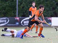 EINDHOVEN - hockey - Gabriel Dabanch van OZ tijdens de hoofdklasse hockeywedstrijd tussen de mannen van Oranje-Zwart en Bloemendaal (3-3). COPYRIGHT KOEN SUYK