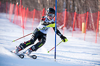 Gunstock Ski Club's J3 Qualifier slalom ski race at Gunstock Mountain January 15, 2012.