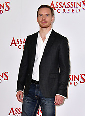 London Assassin's Creed Photocall - 8 Dec 2016
