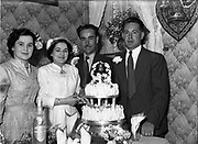 2/7/1952<br /> 7/2/1952<br /> 2 July 1952<br /> <br /> Wedding of Anthony Fearon and Bridget McBride Pro Cathedral