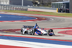 February 12, 2019 - Austin, Texas, U.S. - GRAHAM RAHAL (15) of the United States goes through the turns during practice for the IndyCar Spring Test at Circuit Of The Americas in Austin, Texas. (Credit Image: © Walter G Arce Sr Asp Inc/ASP)