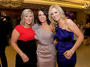 Collette, Lisa and Joanne Campbell from Tubbercurry,  at the Take Me Out for Cancer Care West in the Sathill Hotel, Galway . Photo:Andrew Downes.