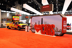 11 February 2016:  State Farm Insurance Garage.<br /> <br /> First staged in 1901, the Chicago Auto Show is the largest auto show in North America and has been held more times than any other auto exposition on the continent.  It has been  presented by the Chicago Automobile Trade Association (CATA) since 1935.  It is held at McCormick Place, Chicago Illinois<br /> #CAS16