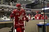 GET-ligaen Ice Hockey, 27. october 2016 ,  Stavanger Oilers v Stjernen<br />Adrian Saxrud Danielsen fra Stjernen etter kampen mot Stavanger Oilers<br />Foto: Andrew Halseid Budd , Digitalsport