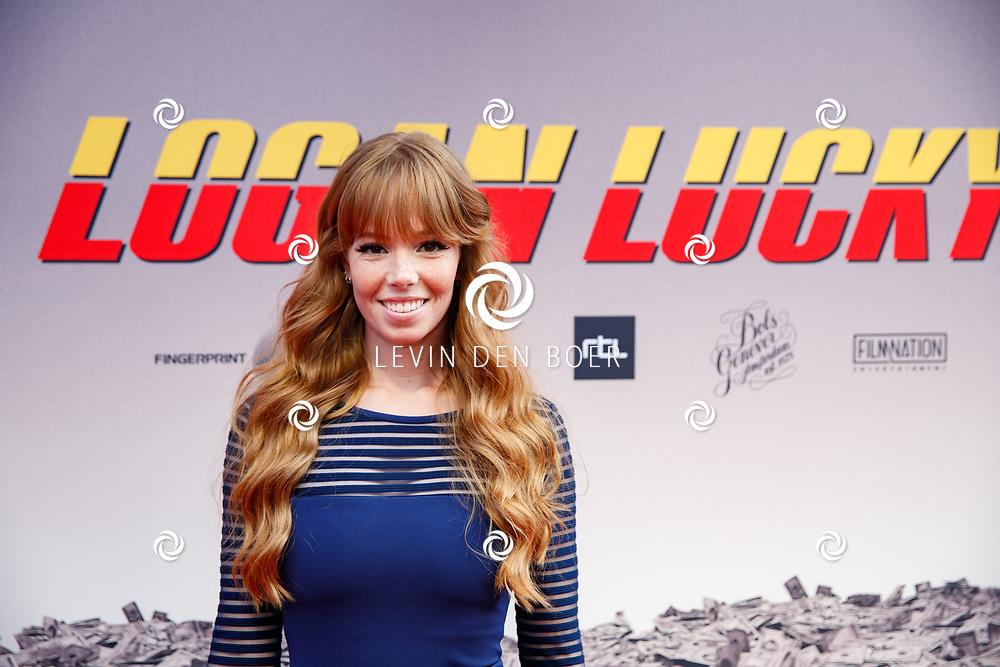 AMSTERDAM - In Theater Tuschinski is de première van Logan Lucky. Met hier op de foto Emily van Tongeren. FOTO LEVIN & PAULA PHOTOGRAPHY VOF