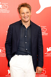August 29, 2018 - Venice, Venetien, Italy - Jason Clark during the 'First Man' photocall at the 75th Venice International Film Festival at the Palazzo del Casino on August 29, 2018 in Venice, Italy (Credit Image: © Future-Image via ZUMA Press)