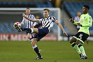 Tony Craig of Millwall in action.  The Emirates FA Cup 3rd round match, Millwall v AFC Bournemouth at The Den in London on Saturday 7th January 2017.<br /> pic by John Patrick Fletcher, Andrew Orchard sports photography.