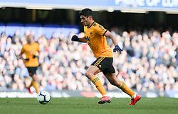 Raul Jimenez of Wolverhampton Wanderers on the ball - Mandatory by-line: Arron Gent/JMP - 10/03/2019 - FOOTBALL - Stamford Bridge - London, England - Chelsea v Wolverhampton Wanderers - Premier League