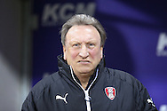 Rotherham United Manager Neil Warnock  during the Sky Bet Championship match between Rotherham United and Middlesbrough at the New York Stadium, Rotherham, England on 8 March 2016. Photo by Simon Davies.
