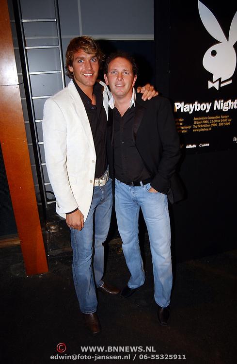 Playboy Night 2004, Robert Leroy en vriend