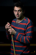 Mcc0074615 . Daily Telegraph<br /> <br /> DT sport<br /> <br /> Snooker player Ronnie O'Sullivan<br /> <br /> Romford 9 January 2017