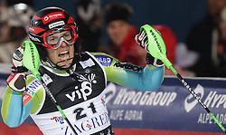 SKI ALPIN: Weltcup, Slalom, Herren, Zagreb, 06.01.2010<br />Jubel von Mitja VALENCIC (SLO)<br />� pixathlon
