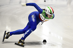 February 8, 2019 - Torino, Italia - Foto LaPresse/Nicolò Campo .8/02/2019 Torino (Italia) .Sport.ISU World Cup Short Track Torino - 1000 meter Ladies Preliminaries.Nella foto: Elana Viviani..Photo LaPresse/Nicolò Campo .February 8, 2019 Turin (Italy) .Sport.ISU World Cup Short Track Turin - 1000 meter Ladies Preliminaries.In the picture: Elana Viviani (Credit Image: © Nicolò Campo/Lapresse via ZUMA Press)