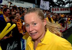20-05-2007 HOCKEY: FINALE PLAY OFF: DEN BOSCH - AMSTERDAM: DEN BOSCH <br /> Den Bosch voor de tiende keer op rij kampioen van de Rabo Hoofdklasse Dames. In de beslissende finale versloegen zij Amsterdam met 2-0 / Minke Booij<br /> ©2007-WWW.FOTOHOOGENDOORN.NL