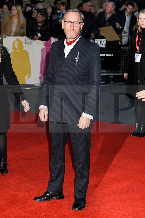 © Licensed to London News Pictures. 16/10/2016. London, UK. MICHAEL SMILEY attends the film premiere of Free Fire showing at The London Film Festival. Ray Tang/LNP