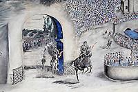 Italie. Sardaigne. Peintures murales // Italy, Sardinia, Mural painting