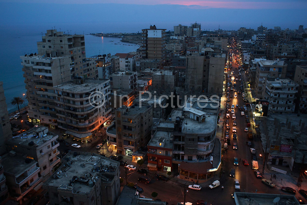 Tyre (Sour), South Lebanon. Tyre and South Lebanon is traditionally heavily influenced by Hizbullah and Tyre was heavily bombed by the Israeli army during the summer war in w2006.