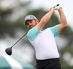 April 7, 2018 - Augusta, GA, USA - Louis Oosthuizen hits from the 1st tee during the third round of the Masters Tournament on Saturday, April 7, 2018, at Augusta National Golf Club in Augusta, Ga. (Credit Image: © Curtis Compton/TNS via ZUMA Wire)
