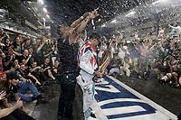 HAMILTON Lewis (Gbr) Mercedes Gp Mgp W05 Portrait  during the 2014 Formula One World Championship, Abu Dhabi Grand Prix from November 20th to 22nd 2014 in Yas Marina. Photo Francois Flamand / DPPI.