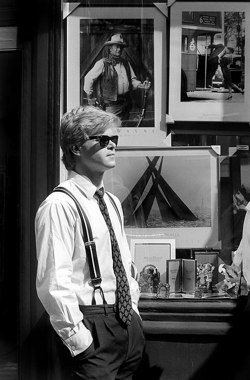 City boy, London, 1989