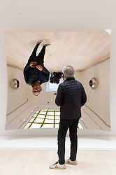 © Licensed to London News Pictures. 13/03/2019. London, UK. Artist Sir Anish Kapoor attends a photocalll for the re-opening of Pitzhanger manor and gallery showing his work. Pitzhanger Manor & Gallery, the Grade-I listed country home of visionary British architect Sir John Soane (1753-1837), will reopen to the public on 16 March 2019 following a three-year, £12-million conservation and restoration project led by architects Jestico + Whiles with the support of heritage experts Julian Harrap Architects. Photo credit: Ray Tang/LNP