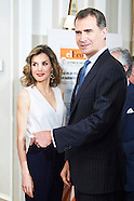 060816 Spanish Royals Attend Memorial Luncheon to the tenth anniversary of 'El Economista' newspaper