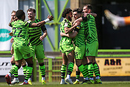 Forest Green Rovers v Scunthorpe United 170421