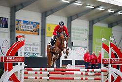 029, Pele vd Withoeve, Lelie Walter, BEL<br /> BWP hengstenkeuring - Meerdonk 2018<br /> © Hippo Foto - Dirk Caremans<br /> 17/03/2018