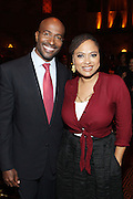 New York, NY-October 5: (L-R) On-Air Personality Van Jones, Co-founder, Color of Change and Director Ava DuVenay (Honoree) attends the ColorOfChange.org's 10th Anniversary Gala held at Gotham Hall on October 5, 2015 in New York City.  Terrence Jennings/terrencejennings.com