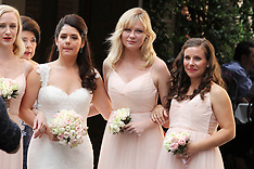 Kirsten Dunst looks stunning as a bridesmaid at wedding of her best friend - 1 Oct 2017