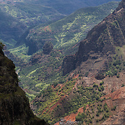 Waimea Canyon on Kauai is also known as the Grand Canyon of the Pacific