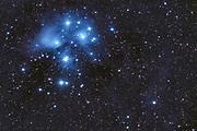 The Pleiades (Messier 45) in constellation Taurus.