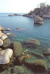 Couple Snorkeling At Cape Maclear