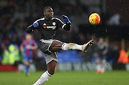 Kurt Zouma of Chelsea in action. Barclays Premier League match, Crystal Palace v Chelsea at Selhurst Park in London on Sunday 3rd Jan 2016. pic by John Patrick Fletcher, Andrew Orchard sports photography.