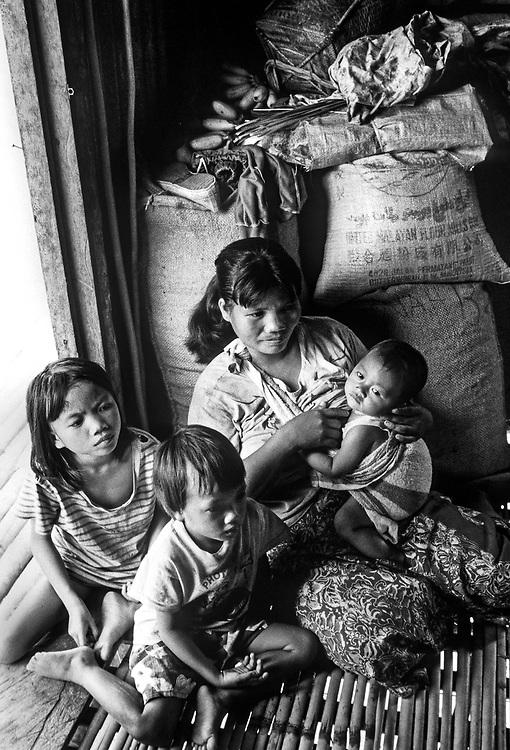 Murut Hill tribe. Sabah, Malaysia. Borneo