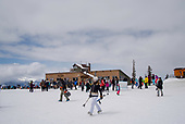 Skiing, March 2019