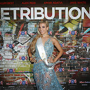 London,England,UK. 5th September 2017.Emily Coral - Miss Supranational England 2015 attend the Retribution Film Premiere at Empire Haymarket.