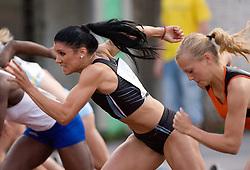 Radmila Vukmirovic, 100m hurdles at 4th Memorial of Matic Sustersic and Patrik Cvetan athletic meeting of Grand Prix Vzajemna, on June 1, 2009, in ZAK, Ljubljana, Slovenia. (Photo by Vid Ponikvar / Sportida)