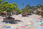 The Spanish Villa Art Center in Balboa Park, San Diego, California.