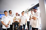 June 10-16, 2019: 24 hours of Le Mans. 7 TOYOTA GAZOO RACING, TOYOTA TS050 - HYBRID,  Mike CONWAY, Kamui KOBAYASHI, Jose Maria LOPEZ, 8 TOYOTA GAZOO RACING, TOYOTA TS050 - HYBRID, Sébastien BUEMI, Kazuki NAKAJIMA, Fernando ALONSO