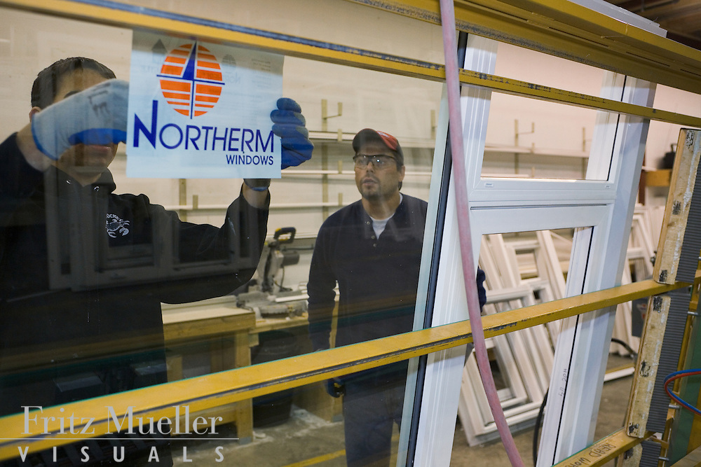 Northerm Windows manufacturing plant in Whitehorse, Yukon