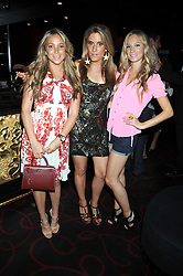 Left to right, BIANCA IMERMAN, OLIVIA INNOCENTI and KIMBERLEY JARAJ at the Beat Summer party hosted by Luca del Bono at L'Atelier De Joel Robuchon, 13-15 West Street, Covent Garden, London on 1st July 2008.<br /><br />NON EXCLUSIVE - WORLD RIGHTS